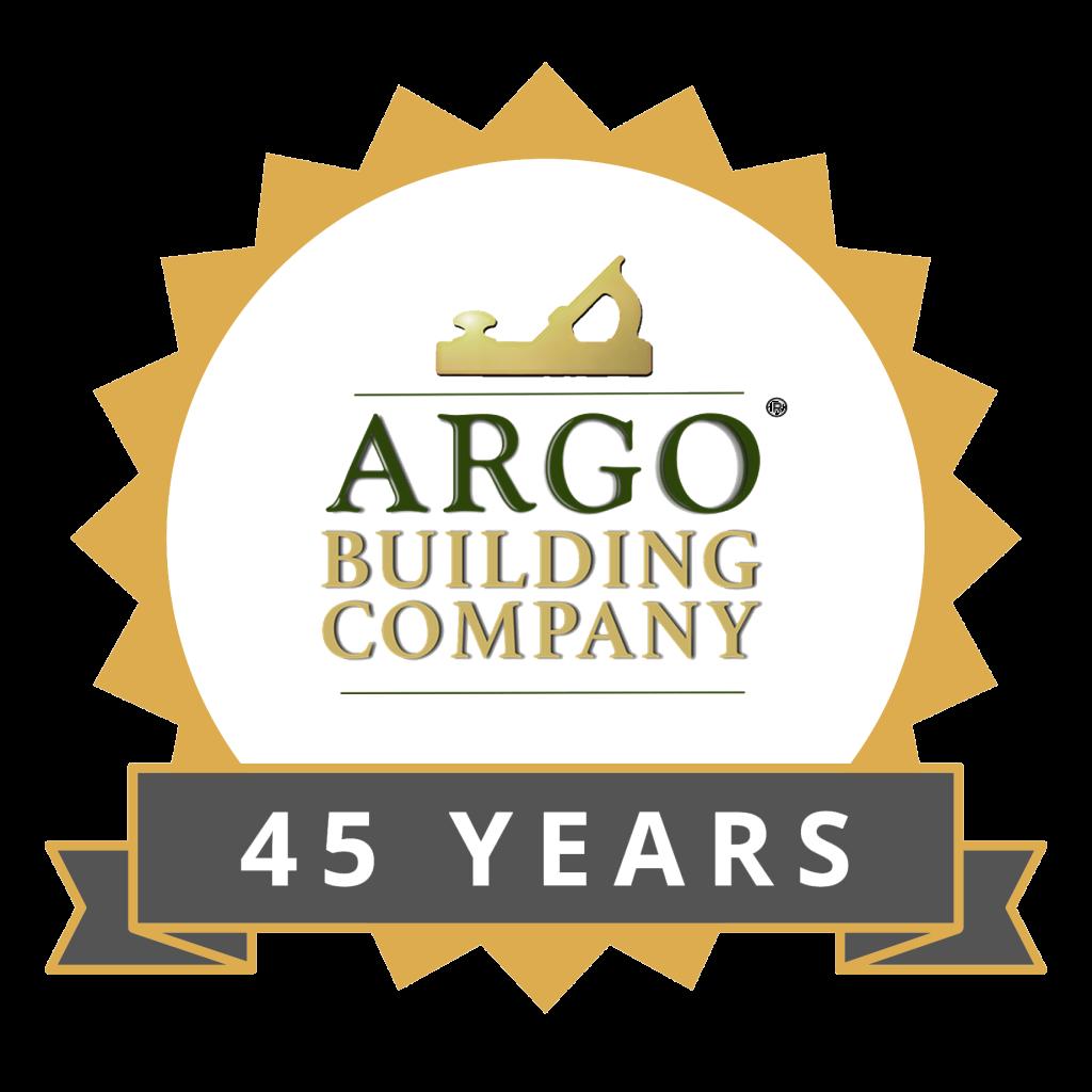 45 Year Anniversary   Argo Building Company